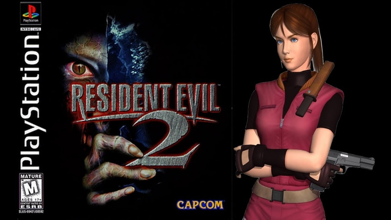 Resident Evil 2 (PlayStation) - (Longplay - Claire Redfield | Scenario A | Normal Difficulty)