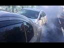 Вырубился за рулем Уперся в машину и газовал пока колеса не стерлись