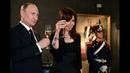 12 de JUL. Cena en honor del presidente ruso Vladimir Putin. Cristina Fernández