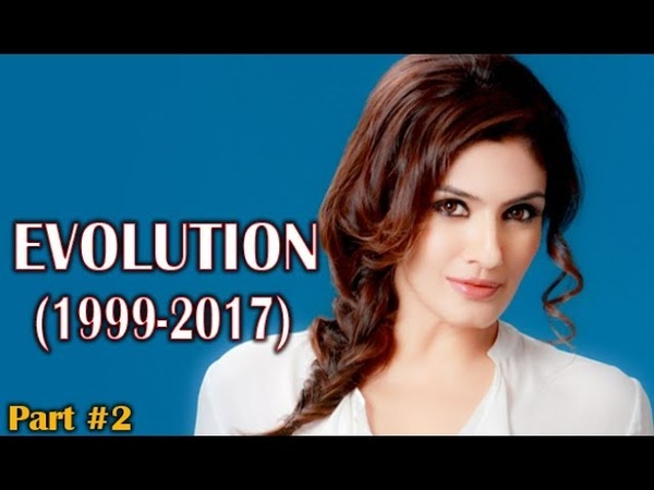 Raveena Tandon Evolution (1999-2017) Part 2