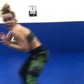Paige VanZant on Instagram I dont really know why, but sometimes after a hard workout I go a little crazy.