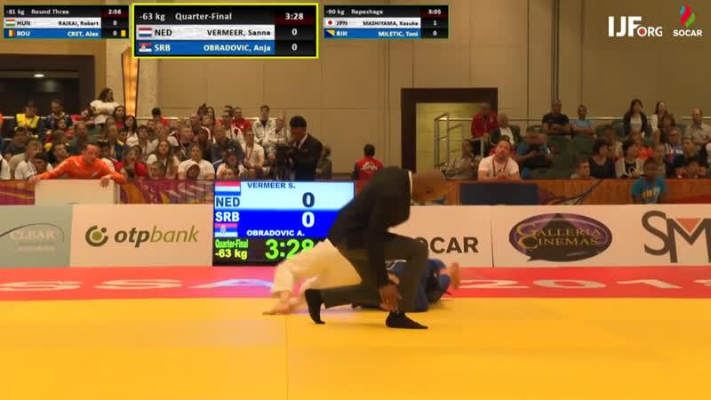 BJJ Scout: Очередное безжалостное удушение. 2018 IJF Judo Junior World Championships.