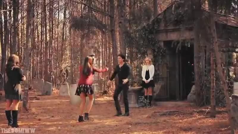 Damon Elena - Never Let Me Go