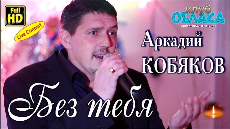 Full HD Live Concert Аркадий КОБЯКОВ - Без тебя Апрелевка, 10.01.2015