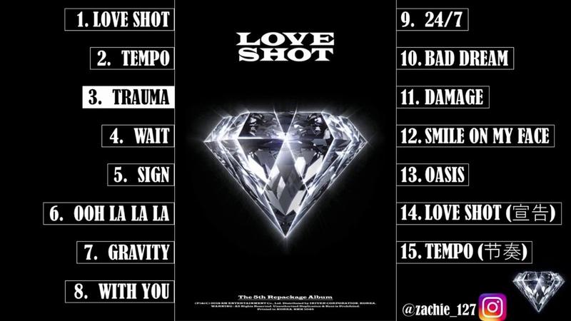 EXO EXOL TEMPO LOVESHOT [ FULL ALBUM ] EXO - LOVE SHOT (The 5th Album Repackage)