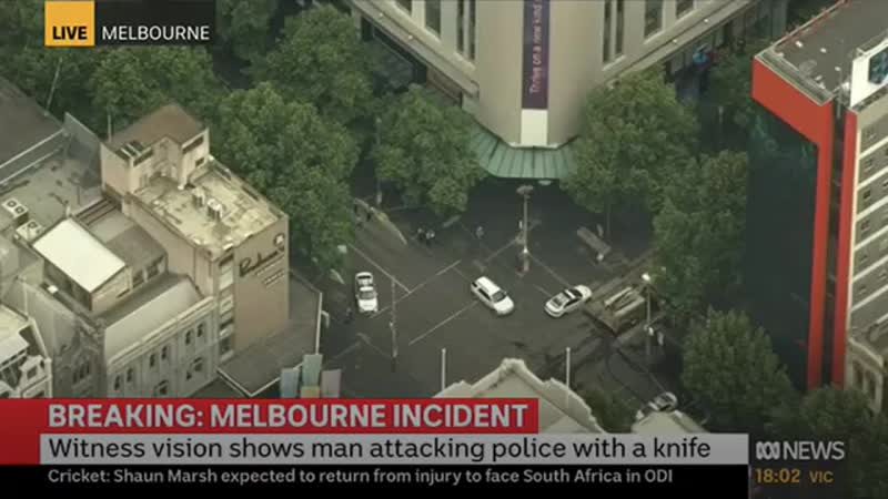 ABC News Coverage of Melbourne Bourke Street Attack (9 November 2018)