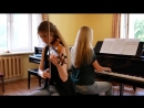 Linkin Park - Numb _ violin and piano cover
