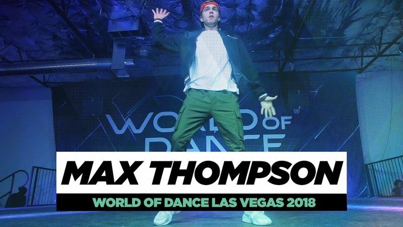 Max Thompson | FRONTROW | World of Dance Las Vegas 2018 | WODVEGAS18