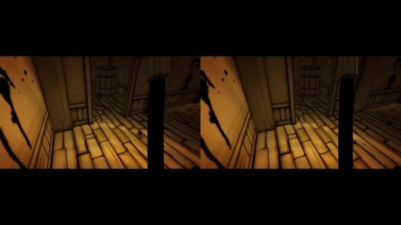 [3D VR TV PC Games Videos] 3D VR Bendy and the Ink Machine Google Cardboard video wide-screen chapter 1- 2