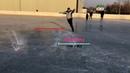 УРОКИ ПО ФИГУРНОМУ КАТАНИЮ №3. Как тормозить (останавливаться) и еще дуги. (Ice skating tutorial №3)