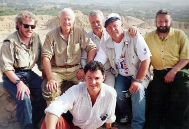 """Всех узнали  Участники телепередачи """"Эх, дороги"""" (РТР), 1997 год, Перу"""