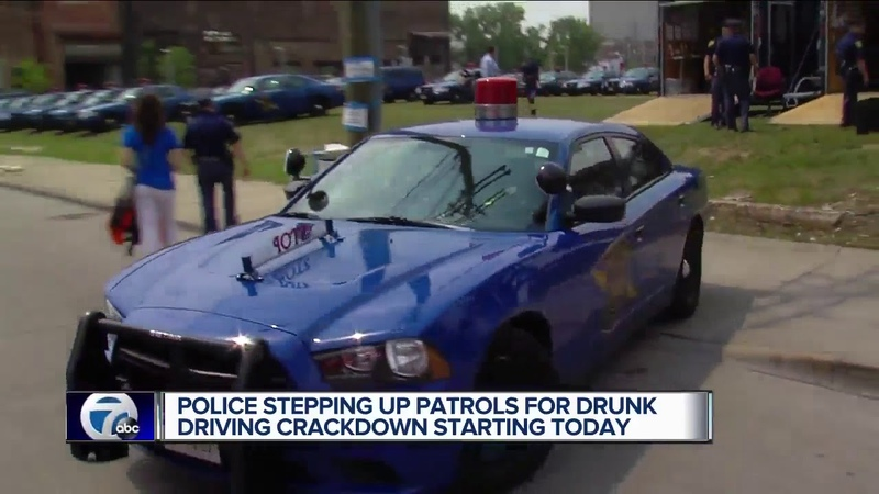 Police stepping up patrols for impaired driving crackdown starting today