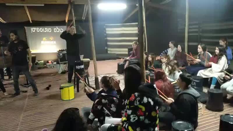 семинар Ханука 2018 в пустыне Нэгев в бедуинских шатрах