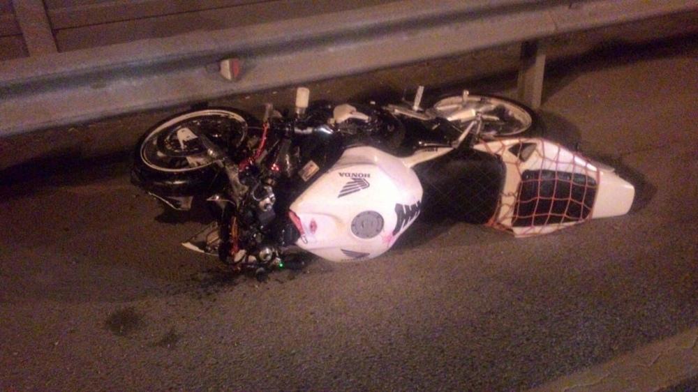 В Краснодаре мотоциклист столкнулся с пешеходом (25 мая)