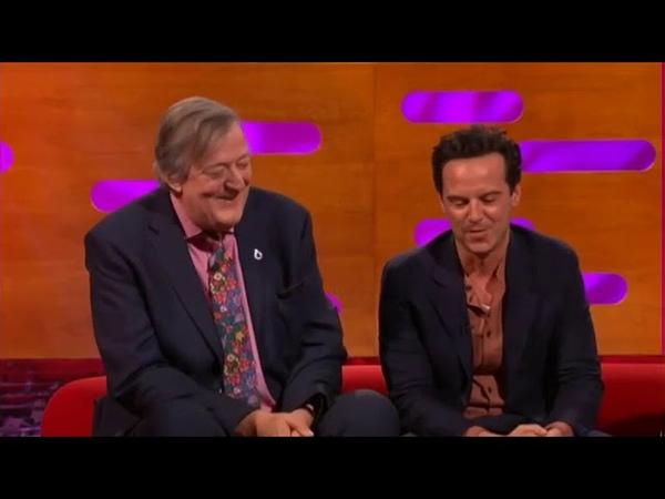 The Graham Norton Show S25E10 Stephen Fry, Andrew Scott, Paloma Faith, Lee Mack and Bastille