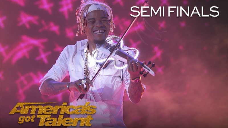 Brian King Joseph: Electric Violinist Takes Performance To New Heights - America's Got Talent 2018