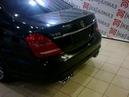 Звук выхлопа Mercedes Benz W221 S65 AMG