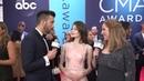 People TV Interview at CMA Awards — Mackenzie Foy, 2018