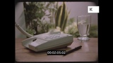 Man Using Telephone Directory, 1980s UK, HD