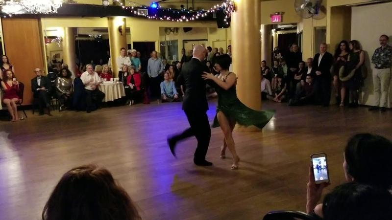 Argentine tango:Adriana Salgado Orlando Reyes - Sabado Ingles