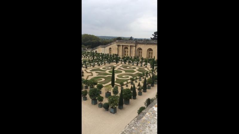 Сад Версальского дворца