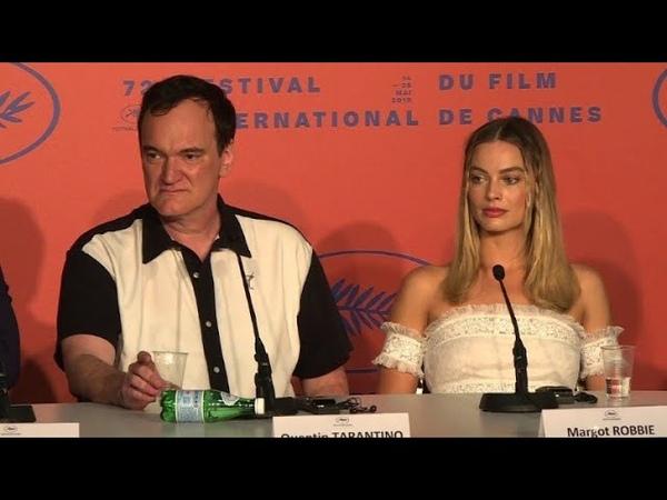 Tarantino agacé par une question sur le rôle de Margot Robbie dans son film | AFP News
