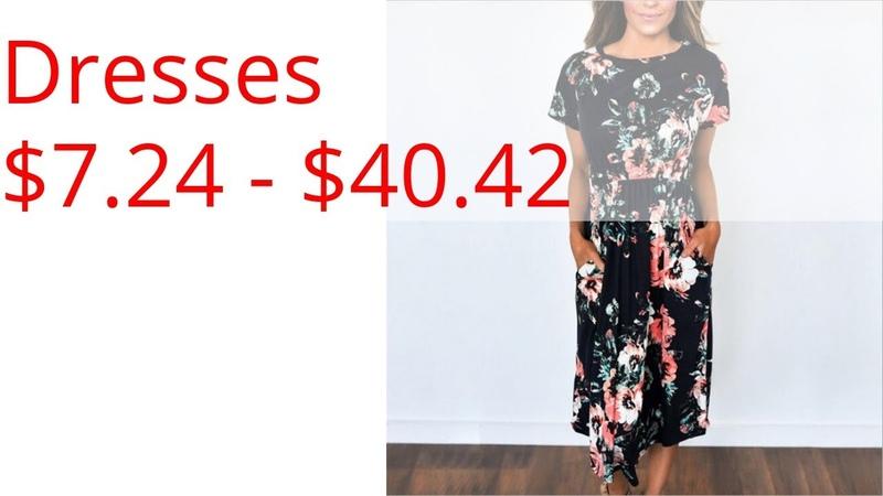Dresses $7 24 $40 42