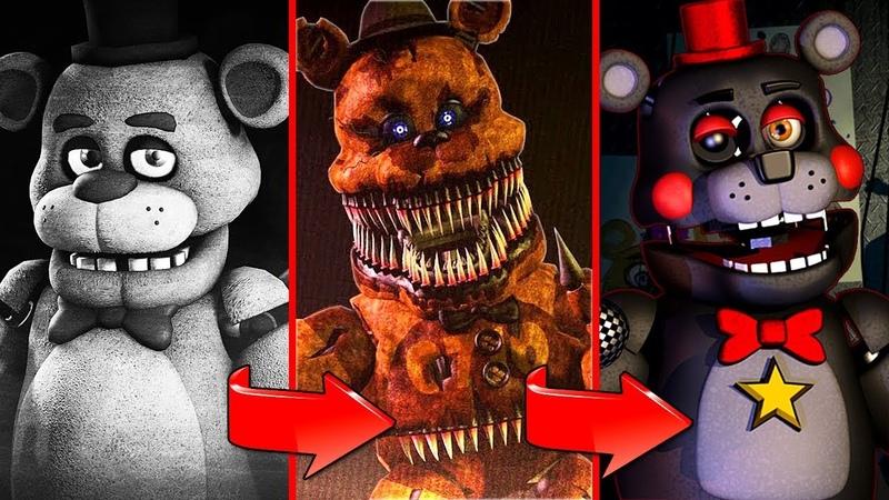 ПЕСНИ 5 НОЧЕЙ С ФРЕДДИ (Сборник) | FNAF Five Nights At Freddys Song