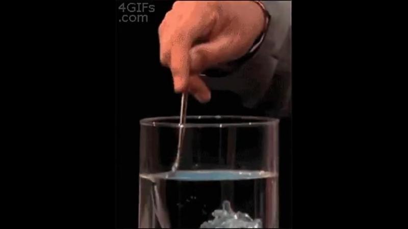 Гидрофобный песок и его взаимодействие с водой