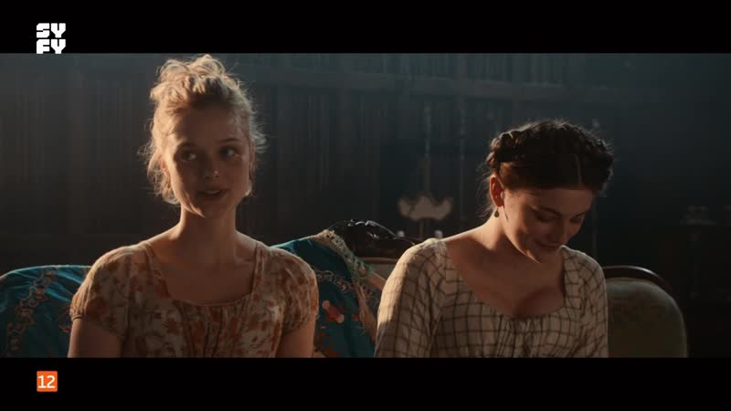01 (2016) Pride and Prejudice and Zombies sexy escene Orgullo Prejuicio Zombis lily james Bella Heathcote
