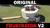 Original Frustrator V2 - Small Group Base with Trapped, Unlootable Loot Rooms