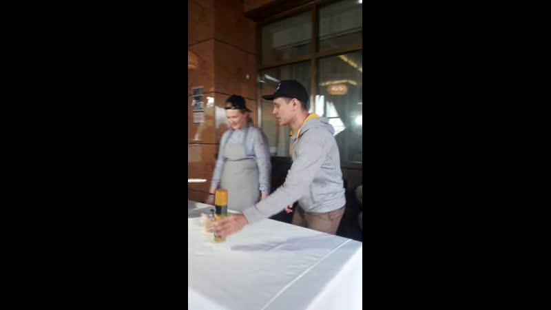 Мастер класс от кафе Вау Десерт гонконгские вафли
