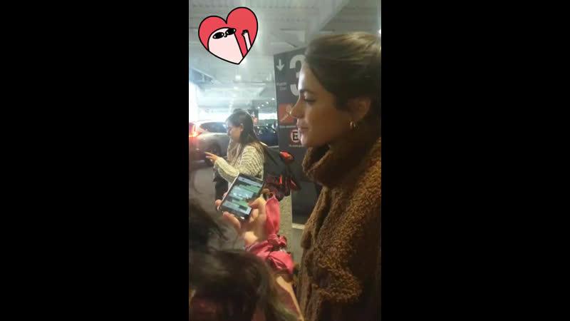 Tini con fans en Mexico [27.05.19]