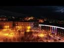 Зимний Кировск ночью