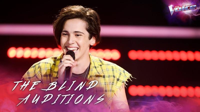 Blind Audition: Aydan Calafiore sings Despacito   The Voice Australia 2018