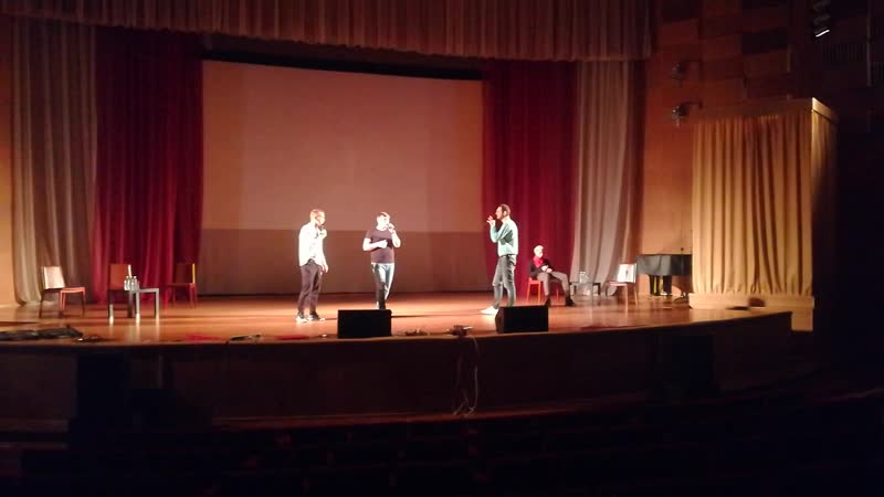 Ф капелла группа PlusFive Великий Новгород 20.10.2018 (репетиция)