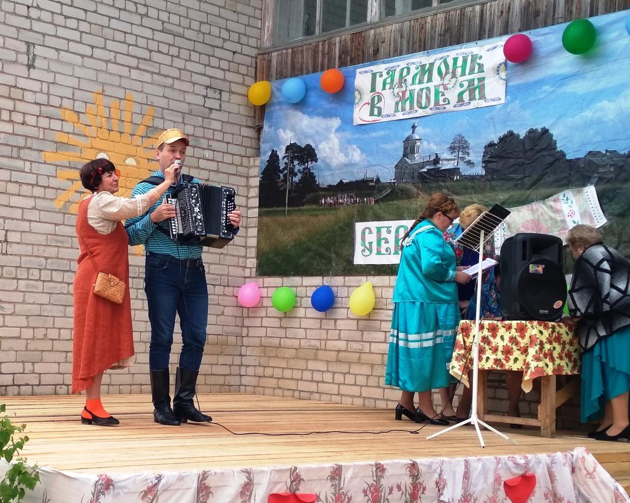 Первый всероссийский фестиваль «Гармонь в моем сердце» проходит на Вологодчине