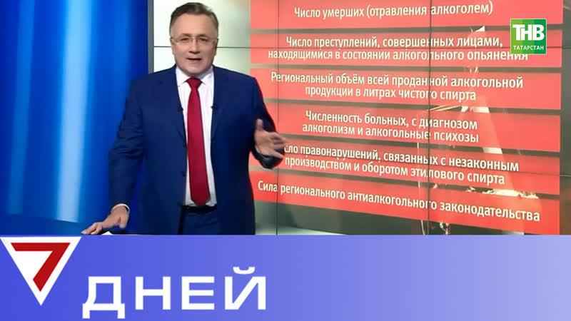 Рейтинг трезвости: Татарстан стал пьющим регионом страны? 7 Дней   ТНВ