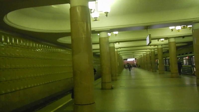 Станция Ясенево| Московский метрополитен