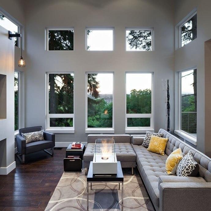 Интересный современный дом с элементами модерна