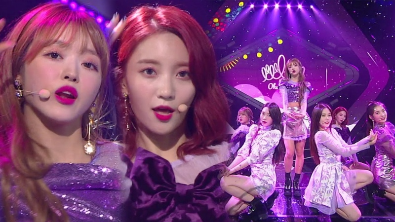 《ADORABLE》 OH MY GIRL(오마이걸) - Remember Me(불꽃놀이) @인기가요 Inkigayo 20180923
