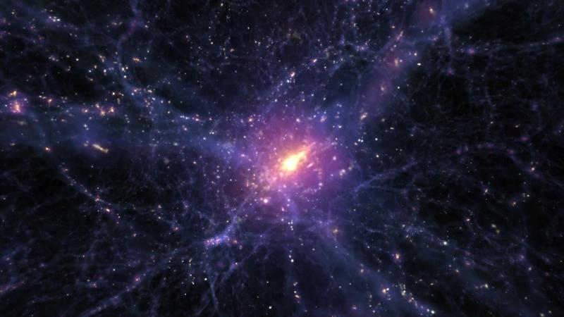 Хаббл смотрит на галактику с дефицитом темной материи