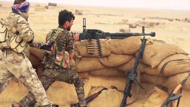 YPG/SDF наступают на позиции террористов ИГИЛ Deir al-Zour