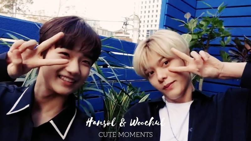 Ji Hansol Woochul cute moments