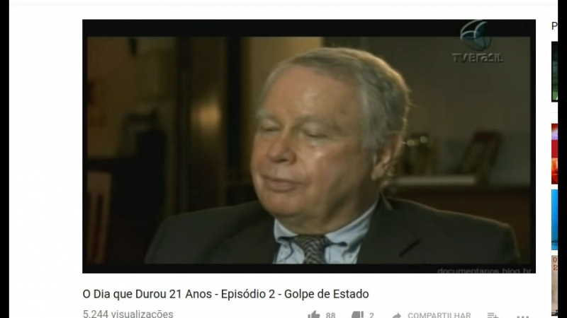 Operação Brother Sam : não podemos engolir esse cara , dizem sobre o presidente brasileiro