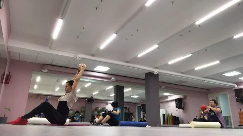 Упражнение для мышц кора/ BodyMind Transformation- семинар Марины Шешуковой