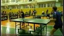 Настольный теннис Игра Гринёв Е. _ Долматов Р.