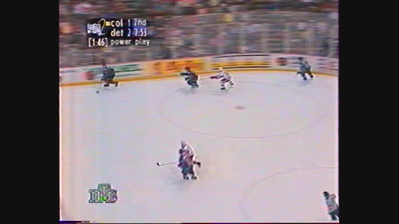 1996.01.17 NHL 1995-96. RS. Detroit Red Wings - Colorado Avalanche