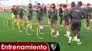 El Sevilla prepara el partido del Bernabéu con el estreno de Wöber