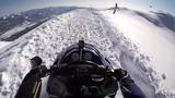 Snowmobile Parachute Jump